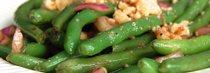 Balsamic green beans