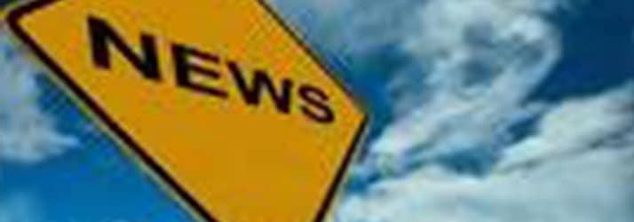 sign saying NEWS