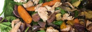 Italian Roasted Chicken and Vegetable Salad