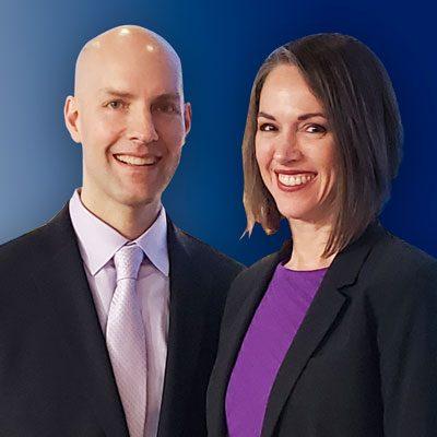 Dr. Thomas Thomas and Dr. Stephanie Chaney